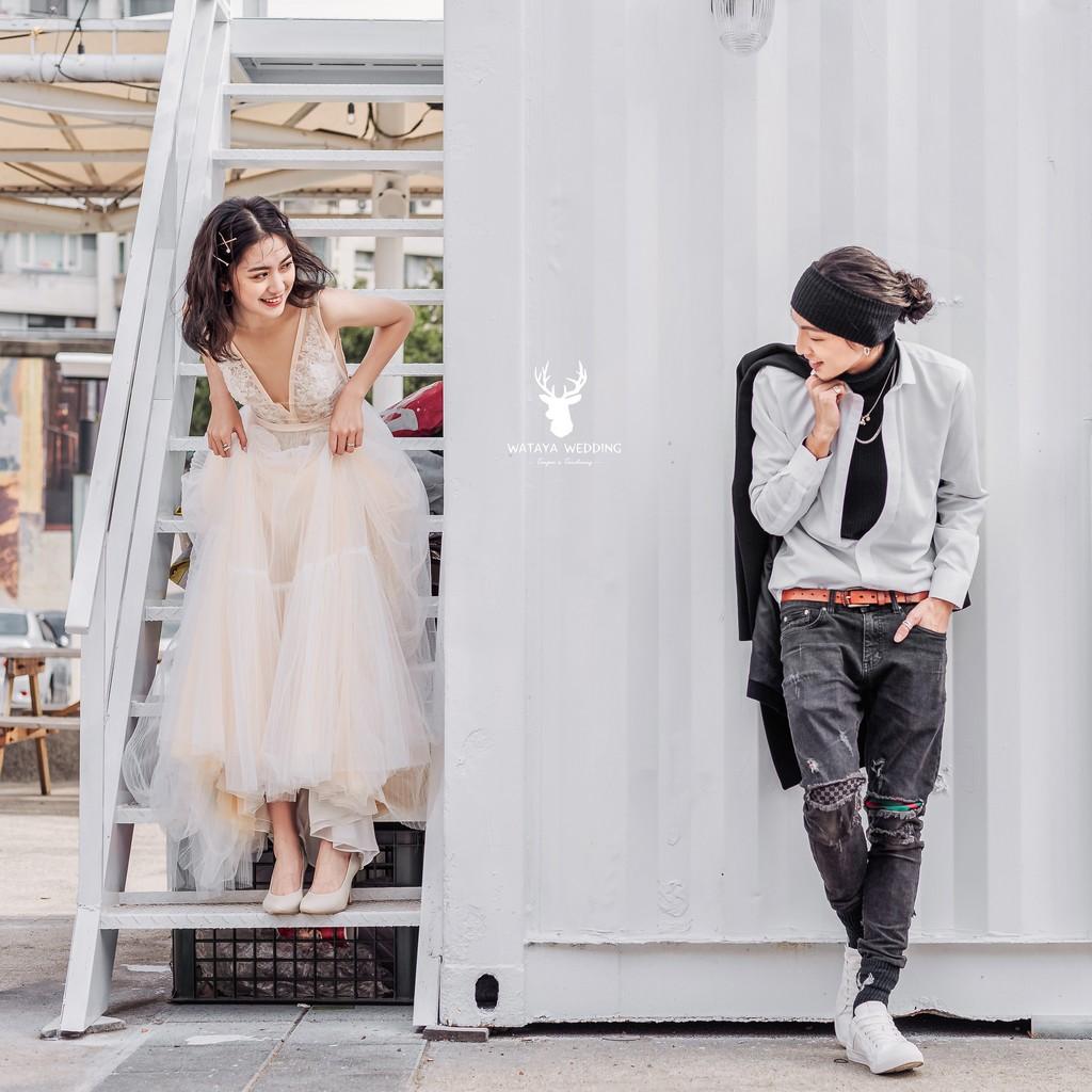 Boho Chic城市婚紗