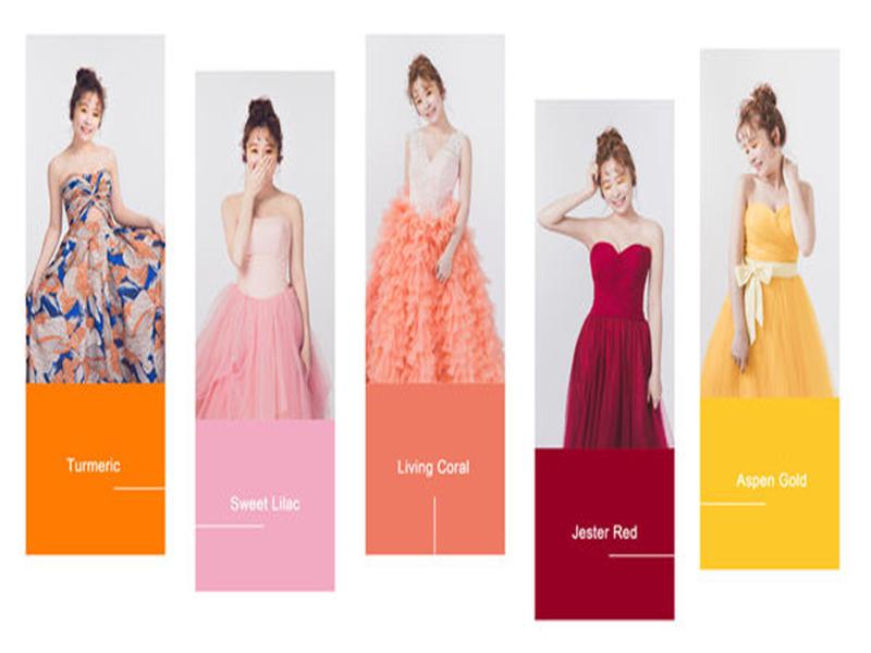 【時尚Pantone】2019年度Fashion代表禮服色系