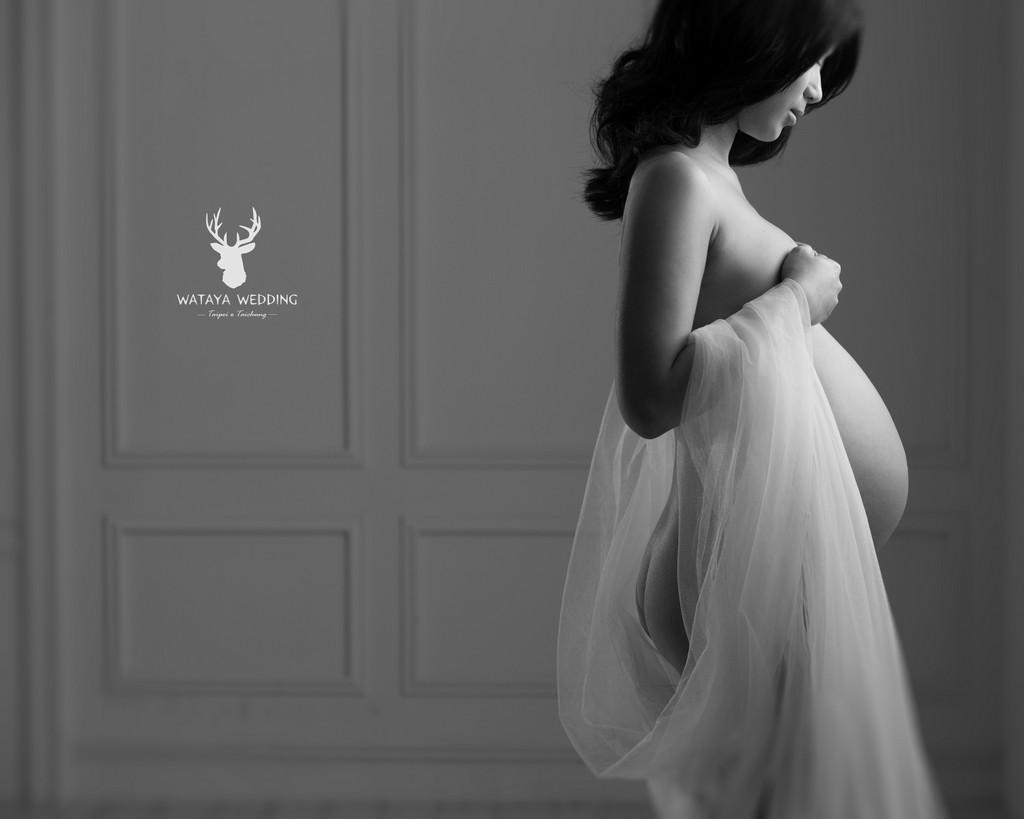 孕婦寫真作品-純粹