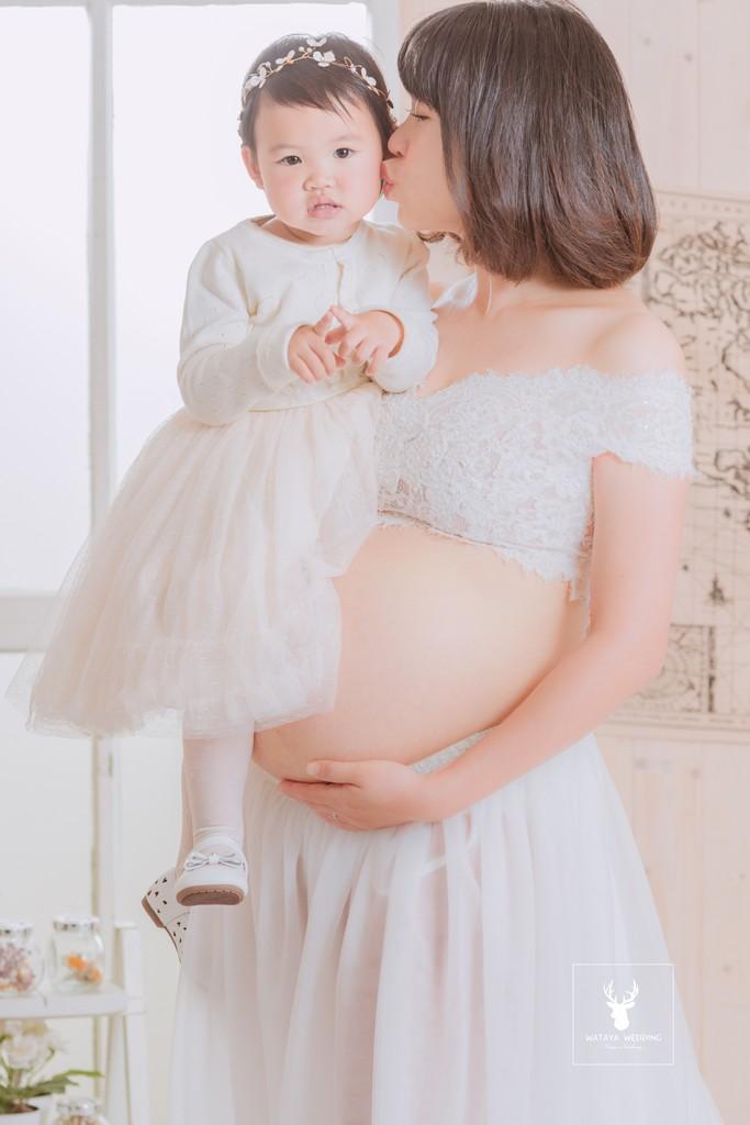孕婦寫真作品-最美的笑容