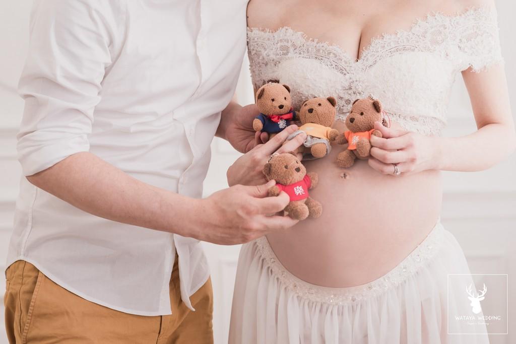 孕婦寫真作品-期待你的到來