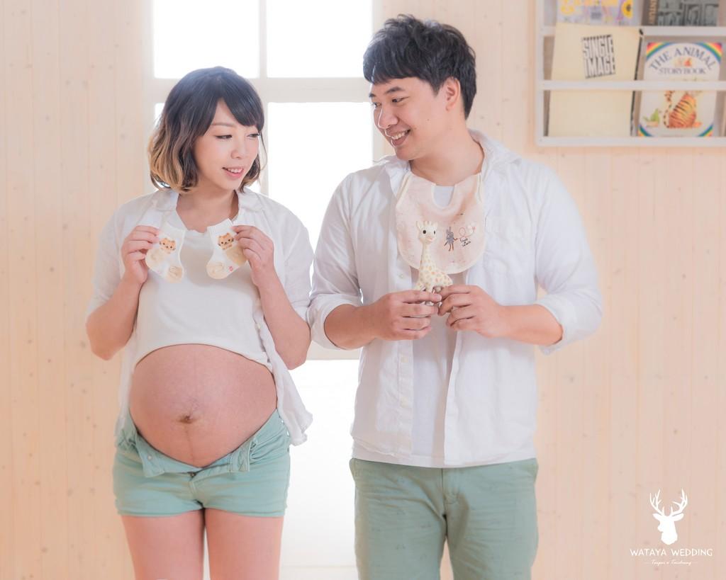 孕婦寫真作品-貓貓&baby