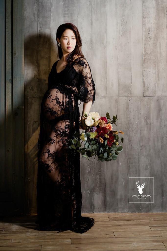 孕婦寫真作品-時尚媽咪