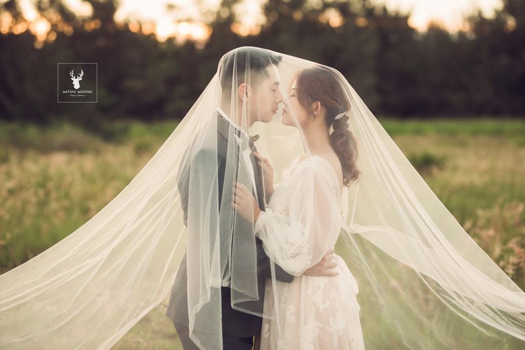 婚紗攝影姿勢:相吻