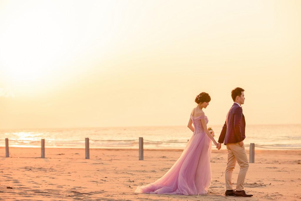婚紗外拍景點:沙灘