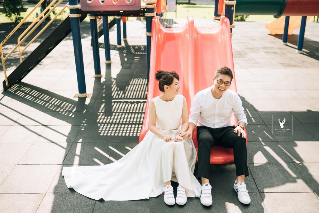 婚紗外拍景點:公園