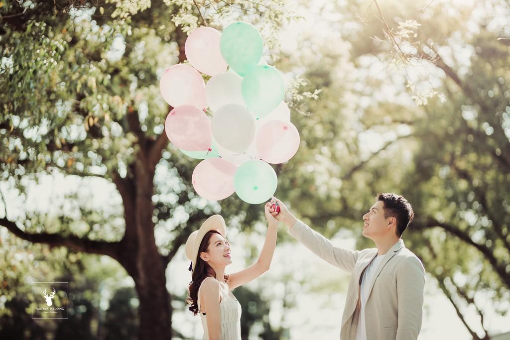 婚攝照風格自然清新