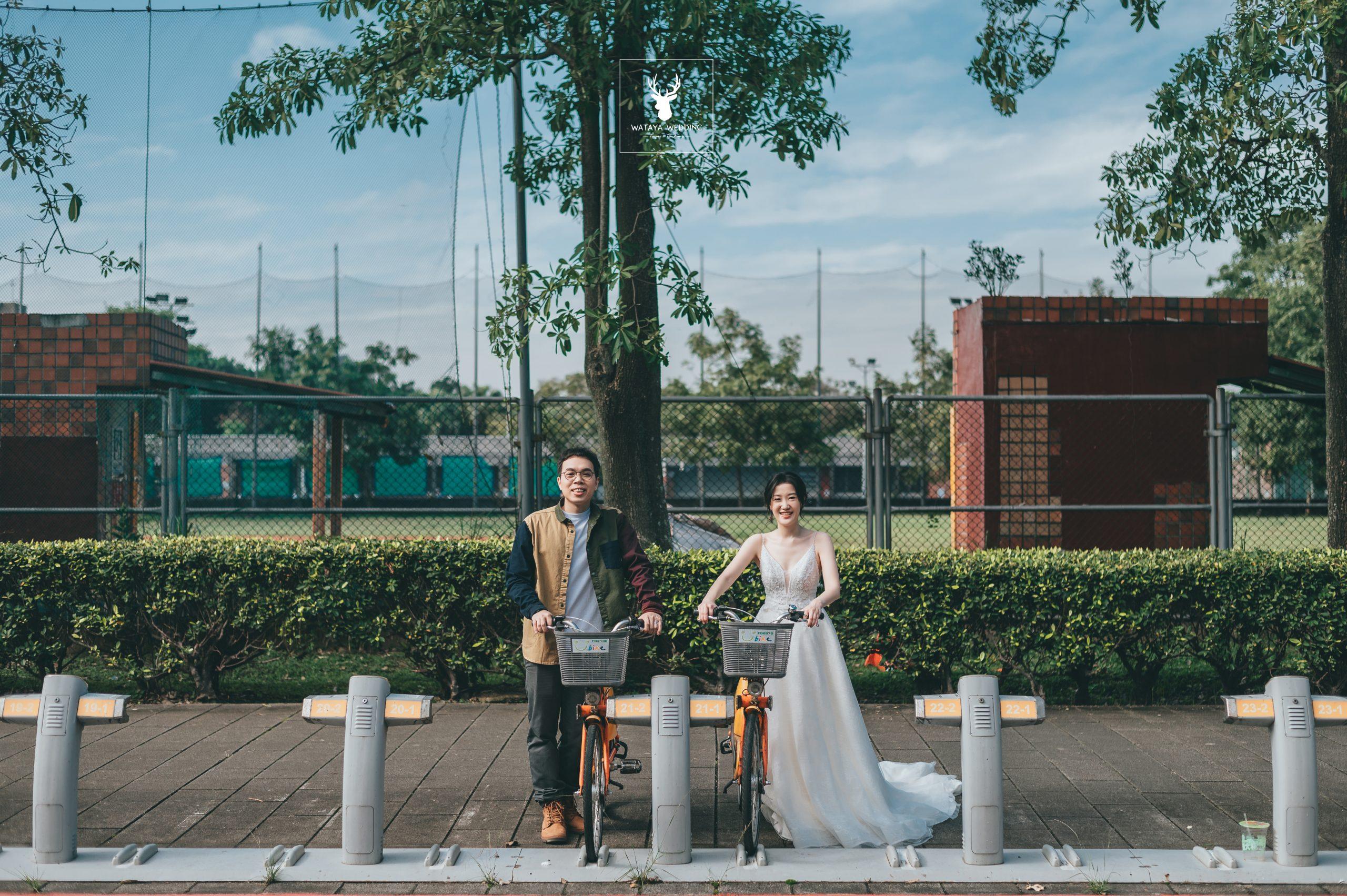 婚紗外拍景點:校園