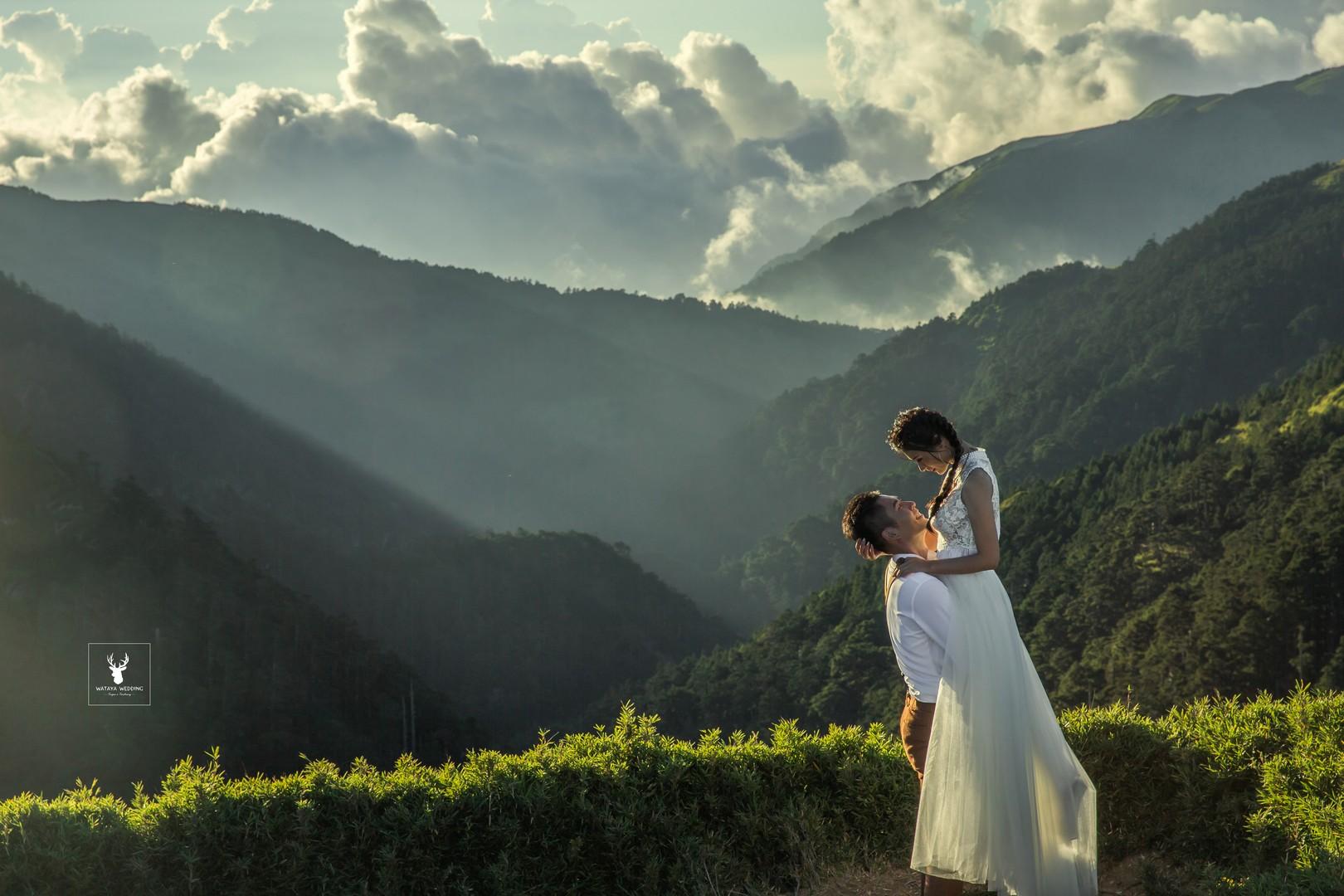 婚紗外拍景點:高山